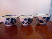 First Period Worcester Tea Bowls (3 of 7)