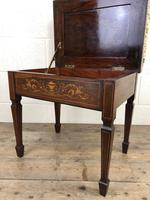 Antique Victorian Rosewood Piano Stool (3 of 14)