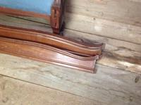 Vintage French Walnut 5ft 155cm Capitone Double King Size Bed (2 of 6)
