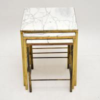 1950's Brass & Marble Nest of Tables (9 of 9)