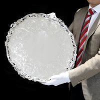 Exceptional Large Solid Sterling Silver Victorian Salver/tray/platter 47cm with Cast Border - Hunt & Roskell - Storr Mortimer & Hunt (28 of 29)