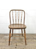 Set of Four Antique Bentwood Chairs (4 of 8)