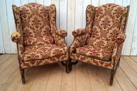 Pair of Chairs for re-upholstery (6 of 12)