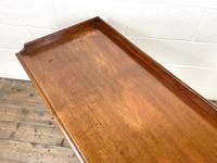 Victorian Two Drawer Mahogany Side Table (11 of 13)