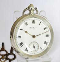 Antique Silver Waltham Pocket Watch (3 of 5)