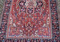 Antique Heriz Carpet 366x228cm (5 of 10)