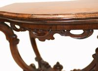 Victorian Card Table Antique Games Tables Rosewood c.1880 (7 of 13)