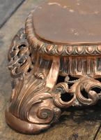 Fine Pierced Copper Repousse Stand (3 of 8)