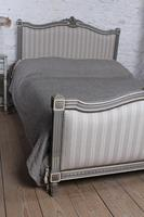 Beautiful Newly Upholstered King Size French Louis XVI Style Bed (11 of 11)