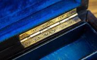 Burr Walnut & Brass Jewellery Box 1860 (10 of 14)