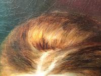 Huge 19th Century Young Fine Scottish Girl Portrait Matthias Robinson 1856-1895 (37 of 37)