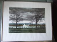 """George Guest (1939-2020): lithograph entitled """"Great Barn"""""""