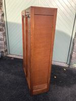 Antique Oak Double Filing Cabinet (4 of 10)