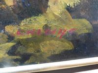 Large oil on canvas The Plantation Brazilian artist Chediac (2 of 10)