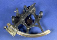 Victorian Brass Sextant In It's Original Mahogany Box. (4 of 18)