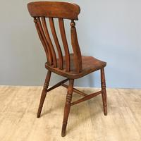 Harlequin or Near Matched Set of 8 Kitchen Chairs (4 of 7)