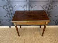 French Empire Card Table / Games Table
