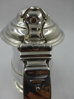 Antique George II Silver Lidded Tankard London 1754 Maker Thomas Whipham (8 of 9)