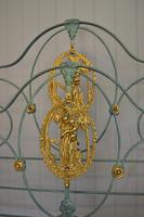 Antique Victorian Brass & Iron Bed 5ft Kingsize Bedstead Sympathetically Restored (3 of 17)