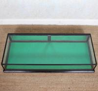 Counter Top Shop Display Cabinet Glazed Ebonised 19th Century Glass (3 of 14)