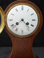 French Belle Epoque Mahogany Mantel Clock by Japy Freres (2 of 6)