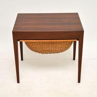 Danish Rosewood Vintage Sewing Table by Severin Hansen (2 of 12)