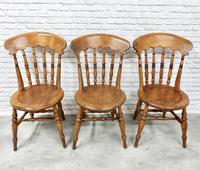 Set of 6 Penny Seat Windsor Kitchen / Dining Chairs (5 of 8)