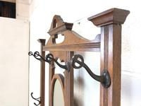 Antique Oak Hall Stand (5 of 11)