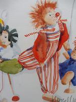 Watercolour The Puppets listed Irish artist Judith Caulfield Walsh (6 of 10)