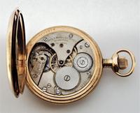 1920s Minerva full hunter pocket watch originally retailed by Porte & Markle Winnipeg (6 of 6)