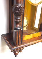 Fantastic Rare Victorian 8-day Wall Clock – Small Antique Striking Vienna Wall Clock (5 of 17)