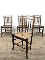Set of Four 19th Century Elm Country Chairs (3 of 13)