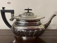 Edwardian William Aitken Solid Silver Tea & Coffee Set Birmingham 1903 (5 of 14)