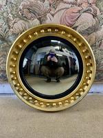 19th C Gilt Convex Mirror (2 of 2)