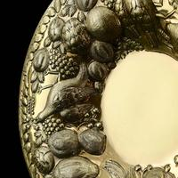 Magnificent Georgian Pair of Solid Silver Gilt Charger / Platter Dishes - George Burrows 1824 (21 of 27)