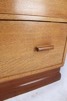 Art Deco Limed Oak Chest of Drawers (11 of 13)