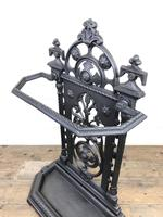 Victorian Cast Iron Umbrella Stand – Coalbrookdale Style (7 of 9)