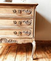 French Antique Style Small Chest of Drawers / Commode (2 of 4)
