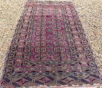 Antique Tekke Turkoman Carpet Rare Shade (2 of 4)