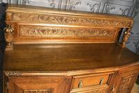 Quality Carved Oak Sideboard (10 of 14)