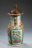 19th Century Canton Vase Lamp (2 of 3)