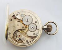 Antique Swiss Silver Pocket Watch, 1924 (5 of 5)