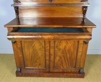 Victorian Flame Mahogany Chiffonier Cabinet Sideboard (7 of 8)