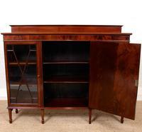 Bookcase Astragal Glazed Inlaid Mahogany (2 of 10)
