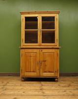 Antique Pine Kitchen Dressser with Glazed Top, Country Dresse. modestly sized (11 of 19)
