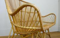 Good Vintage Wicker Rattan Sofa By Rohé Noordwolde (5 of 14)