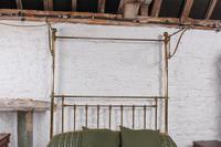Spectacular Victorian All Brass Half Tester (7 of 16)
