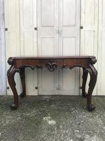 High quality early Victorian sofa / centre / console table (2 of 14)