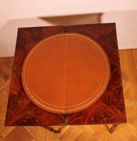 Mahogany Restoration Period Games Table 19th Century (2 of 11)