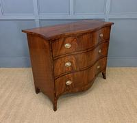 Georgian Flame Mahogany Serpentine Chest of Drawers (11 of 15)